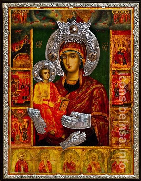 """""""Богородица Троеручица"""" в Троянския манастир """"Богородица Троеручица"""" в Троянския манастир"""