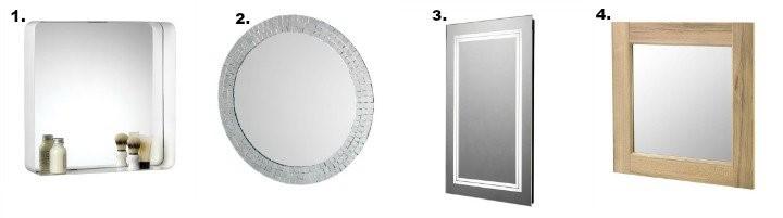 4 типа огледала за баня