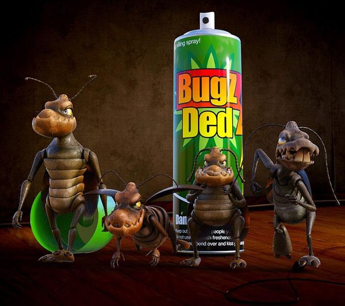 Пръскане за хлебарки